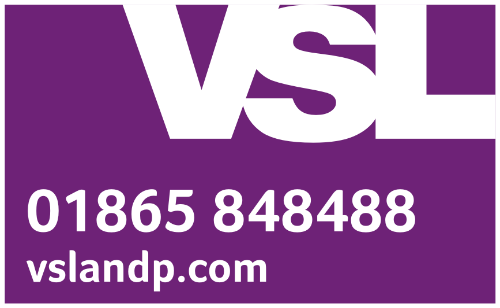 VSL and partners. 01865 848488