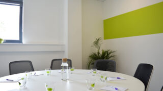 Boston House Grove Meeting Room with Round Table